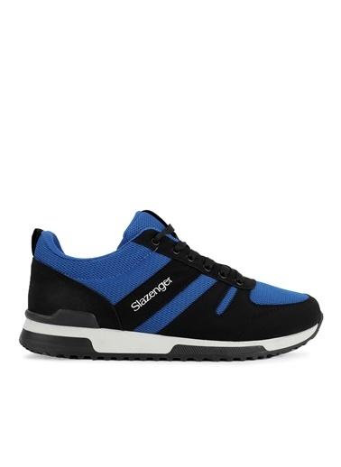 Slazenger Slazenger EDWIN Sneaker Erkek Ayakkabı   Saks  Siyah